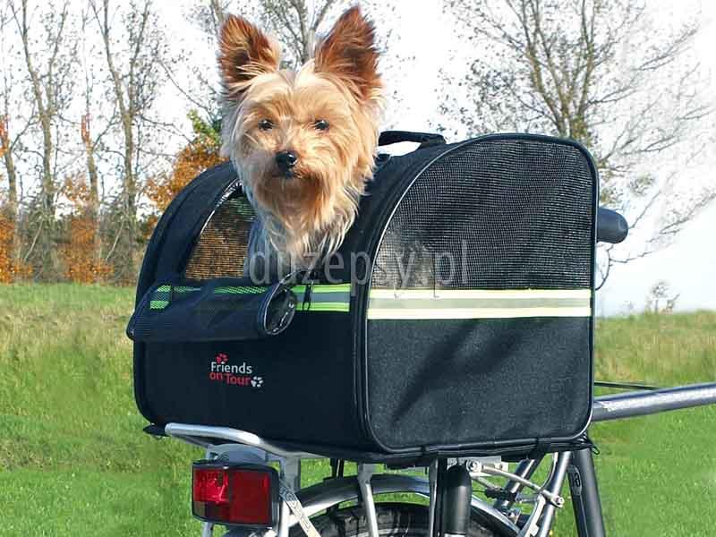 Torba transportowa na rower dla psa. Torba dla psa na rower. Transporter na rower dla psa. Torba na rower dla psa 10 kg. Torba na rower dla yorka, torba na rower trixie, torba na rower do przewozu psa, transporter rowerowy dla psa. Koszyk na rower dla psa. Kosz dla psa na rower. Koszyki na rower dla psów. Sklep z akcesoriami dla psów duzepsy.pl.