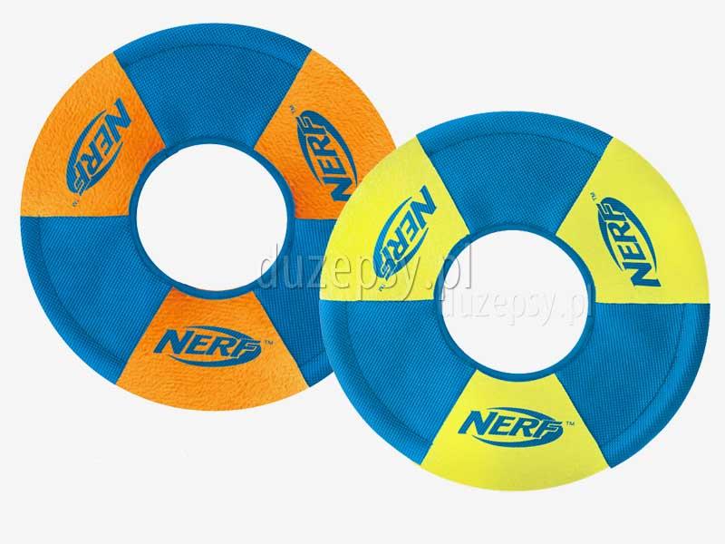 NERF DOG Pierścień frisbee dla psa; dysk frisbee dla psa; frisbee pływające; frisbee z naturalnej gumy; frisbee; border collie; zabawki dla psów; zabawka dla psa; psy aktywne; jak się bawić z psem; agility; sklep zoologiczny; duzepsy.pl; hurtownia zoologiczna