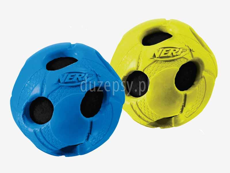 Piłka ażurowa dla psa piszcząca, mocna piłka dla psa, piłka dla psa rugby, piłka dla psa piszcząca, zabawki dla psów NERF DOG, piłka gumowa dla psa; piłka z naturalnej gumy dla psa; najlepsza piłka dla psa; piłka dla psa niezniszczalna; zabawki dla psa do gryzienia; mocna zabawka do gryzienia dla psa; piłka do gryzienia dla owczarka; piłka dla psa z zębami; piłka do zabawy dla psa, wytrzymała piłka dla psa, zabawki dla psa sklep, sklep zoologiczny; hurtownia zoologiczna; duzepsy.pl