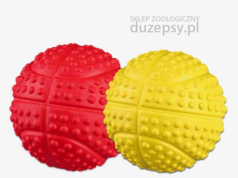 Piłka ażurowa dla psa z kauczuku Trixie ø 7 cm. Piłka dla psa Trixie; piłka dla psa z gumy; piłka dla psa ażurowa; piłka dla psa gumowa; zabawki dla psów; piłka do szkolenia psa; piłka do nauki aportowania; zabawki dla psa sklep, sklep zoologiczny; DuzePsy.pl