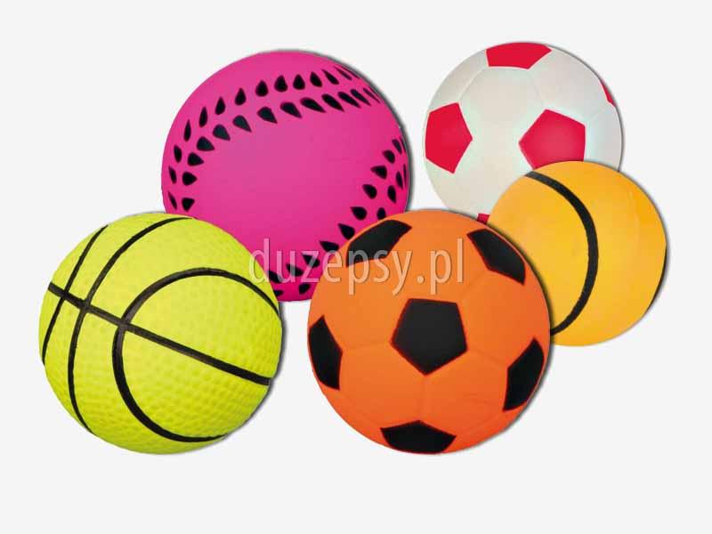 Piłka dla psa z gumy piankowej Trixie. Piłka do zabawy w wodzie; piłka dla psa pływająca; piłka do wyrzutni, piłka zapasowa do wyrzutni piłek, piłki dla psów do wyrzutni piłek, lekk apiłka dla psa, piłka dla golden retrievera, piłka dla psa z pianki gumowej, piłki do zabawy z psem w wodzie; zabawki dla psów; zabawki dla psa do wody; sklep zoologiczny; DuzePsy.pl