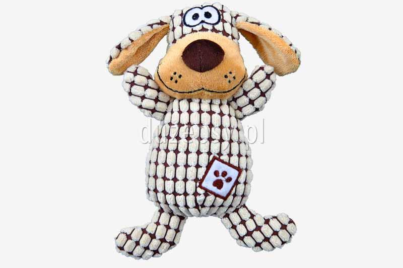 Pluszak dla psa Pies Trixie. Pluszowa zabawka dla psa piszczący pies. Pluszak dla psa, zabawki dla psa, pluszaki dla psa, zabawki pluszowe dla psa
