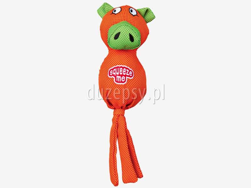 Zabawka dla psa z tkaniny piszcząca świnka Trixie. Maskotki dla psów. Piszczące zabawki dla psów. Maskotki dla psa. Zabawki dla psa. Zabawki dla szczeniąt. Tanie zabawki dla psów oferuje sklep zoologiczny DuzePsy.pl